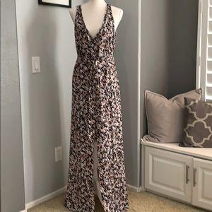 White House Black Market HighLow Floral Maxi Dress